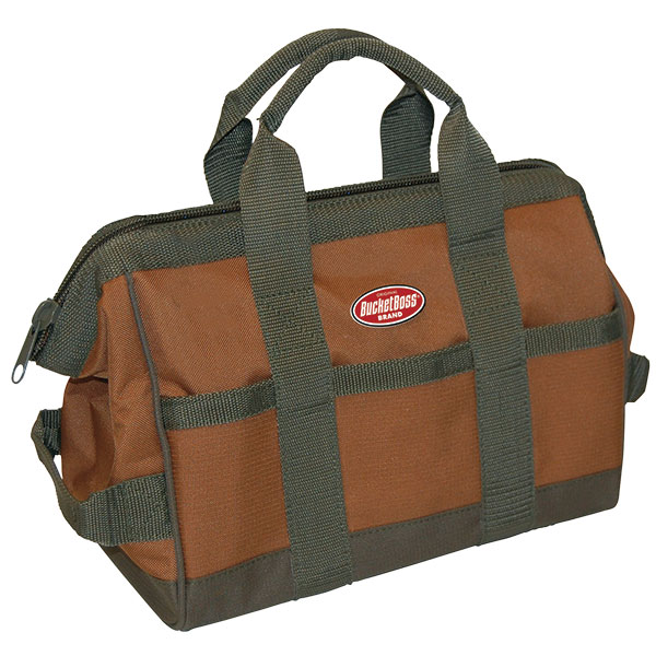 "Bucket Boss® GateMouth® Jr. Tool Bag, 9""L x 12""H x 16""W"