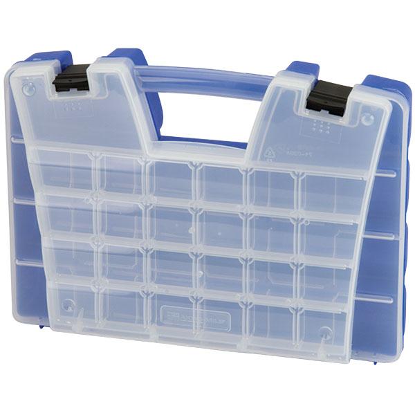 "Akro-Mils® Portable Storage Organizer, 46 Compartments, 15""L x 3 1/4""H x 11 5/6""W"