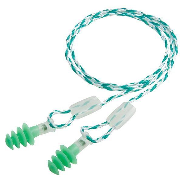 Howard Leight Clarity® Multiple-Use Earplugs, Small, Green