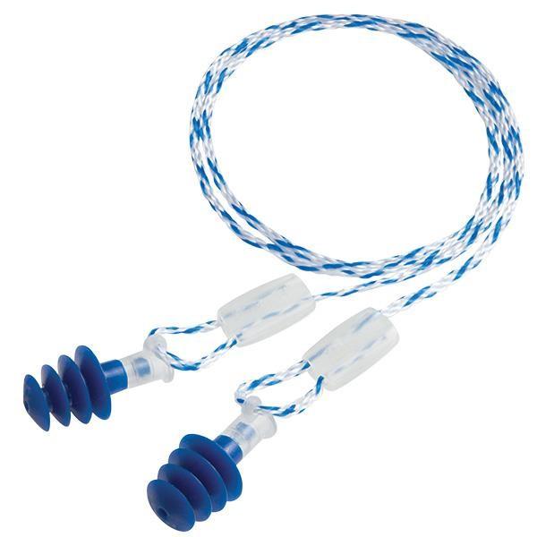 Howard Leight Clarity® Multiple-Use Earplugs, Regular, Blue