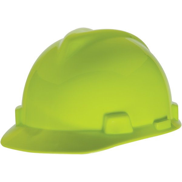 MSA V-Gard® Slotted Cap w/ 1- Touch Slide Closure