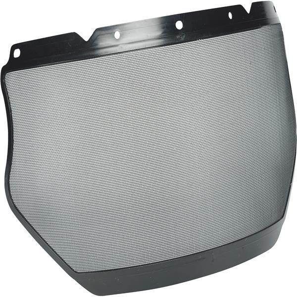 "MSA V-Gard® General-Purpose Plastic Edge Mesh Visor, 8"" x 17"""