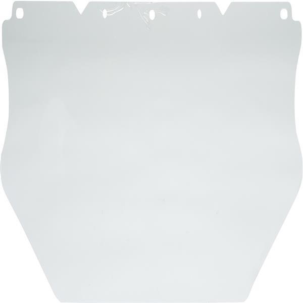 "MSA V-Gard® Polycarbonate Face Shield, Flat (0.060"")"