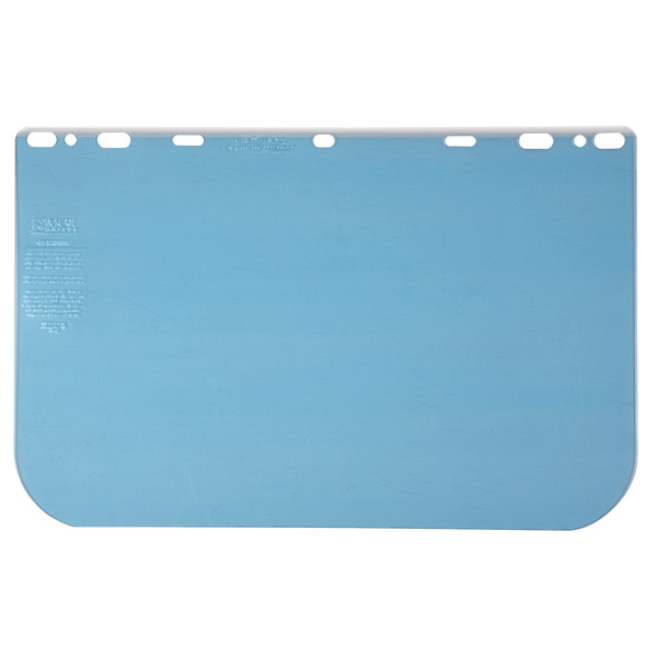 "MCR Safety® Universal PETG Face Shield, 10"" x 15 1/2"" x 0.04"""