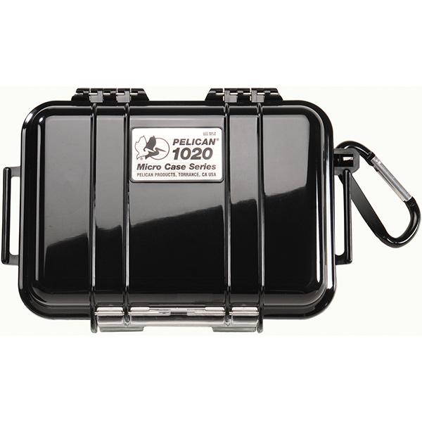 "Pelicanâ""¢ Protector Caseâ""¢ 1020 Micro Case, 6 13/16""L x 4 3/4""W x 2 1/8""D, Black"