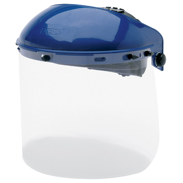 MCR Safety® Polycarbonate Ratchet Headgear