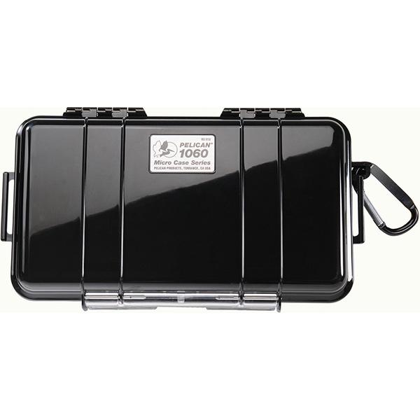 "Pelicanâ""¢ Protector Caseâ""¢ 1060 Micro Case, 9 3/8""L x 5 9/16""W x 2 5/8""D, Black"