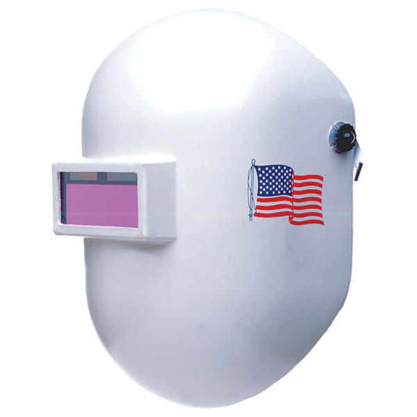 Fibre-Metal® Pipeliner® Superglas® Welding Helmet w/ Ratchet Headgear