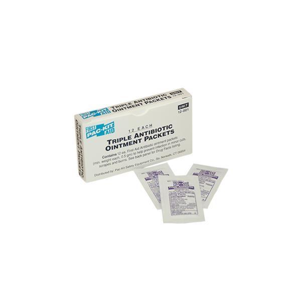 Triple Antibiotic Ointment (Unitized Refill), 12/Box