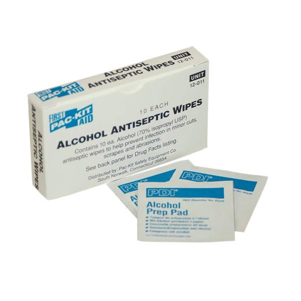 Alcohol Cleansing Wipes (Unitized Refill), 100/Box