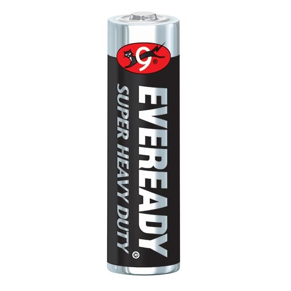 Eveready® Super Heavy Duty AA Batteries, 24/Pkg