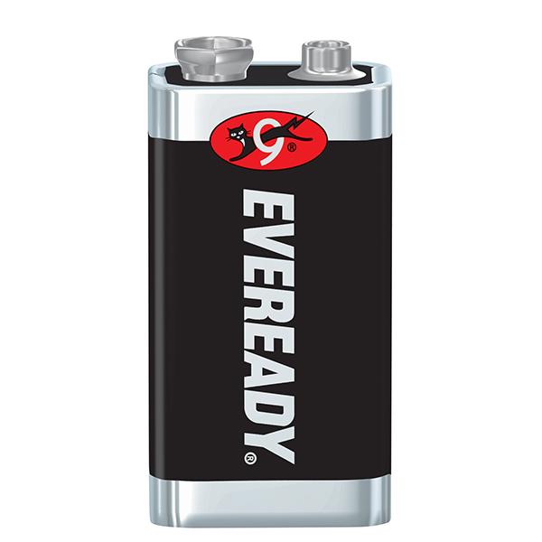 Eveready® Super Heavy Duty 9V Batteries, 1/Pkg