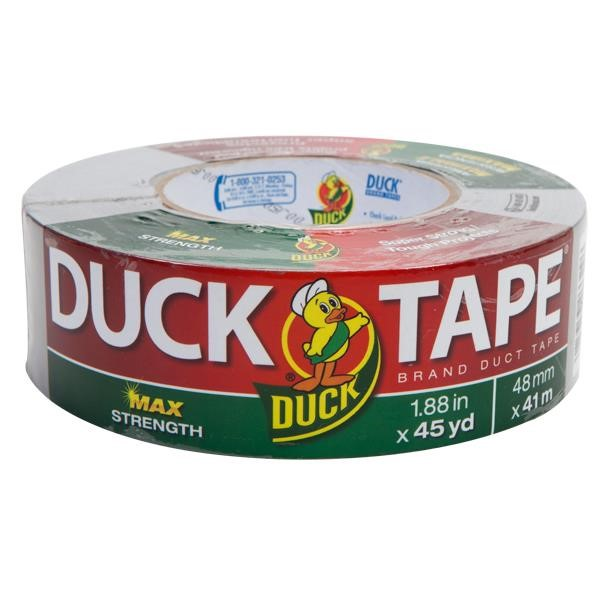 "Duck Brand® Duct Tape, 11.5 Industrial Grade, 1 7/8"" x 45 yd, Gray"