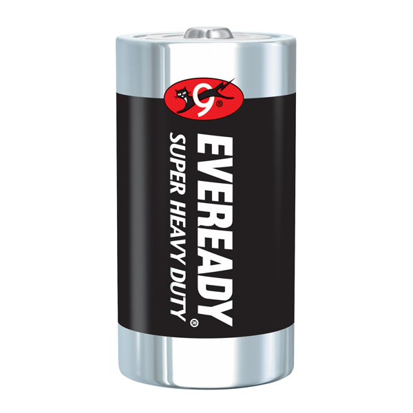 Eveready® Super Heavy Duty C Batteries, 12/Pkg