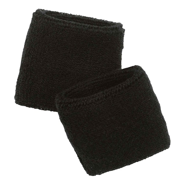 Ergodyne® Chill-Its® Wrist Sweatband, Black