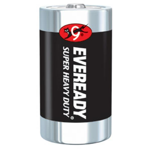 Eveready® Super Heavy Duty D Batteries, 12/Pkg