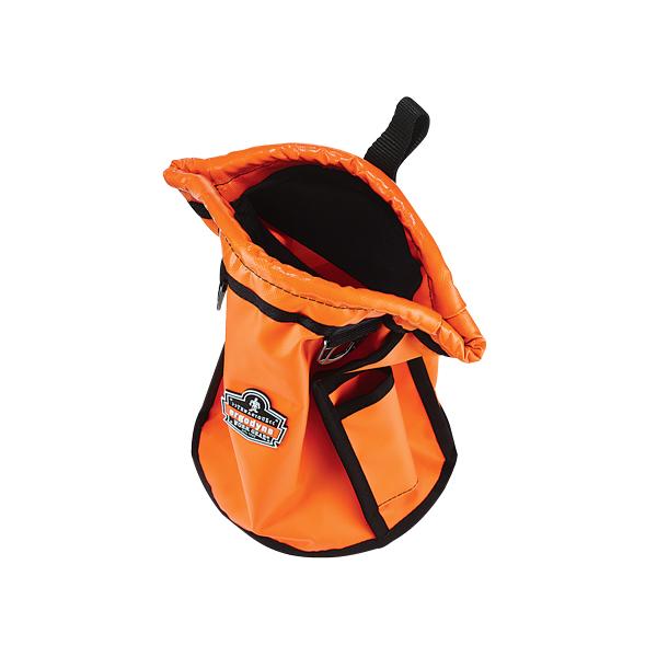 Ergodyne® Arsenal® 5538 Topped Parts Pouch, Tarpaulin, Orange