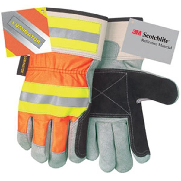 MCR Safety® Luminator™ Double Palm Gloves