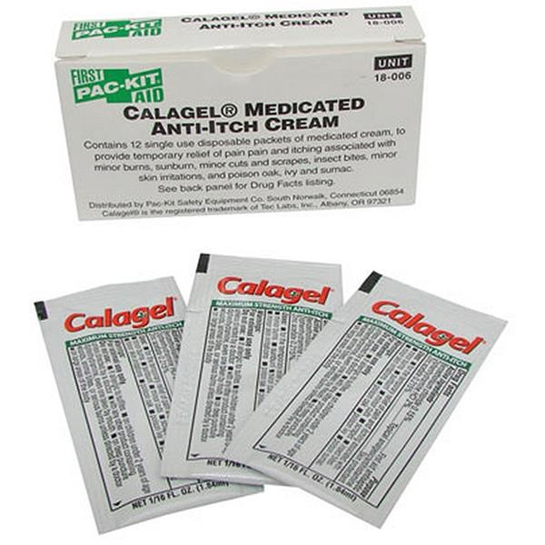 Calagel Anti-Itch Ointment (Unitized Refill), 0.03 oz, 12/Box