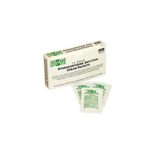 Hydrocortisone Anti-Itch Cream (Unitized Refill), 0.9 g, 12/Box