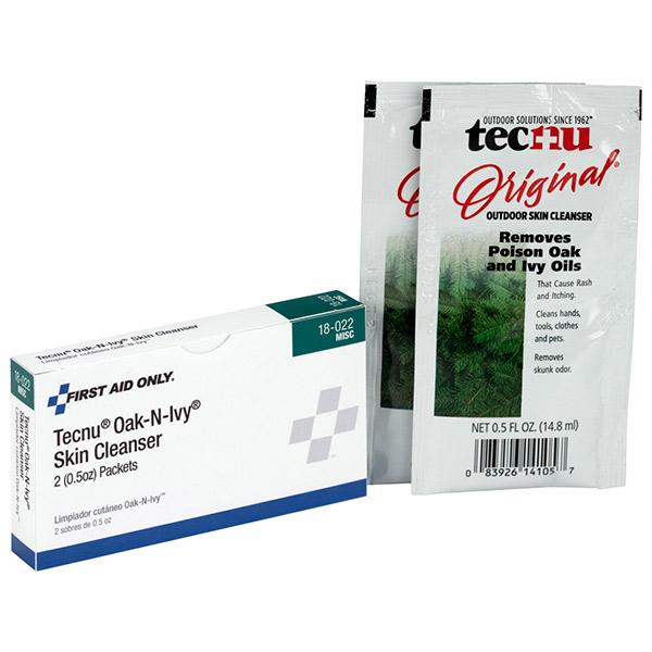 Tecnu® Oak-N-Ivy™ Outdoor Skin Cleanser, 2/Box