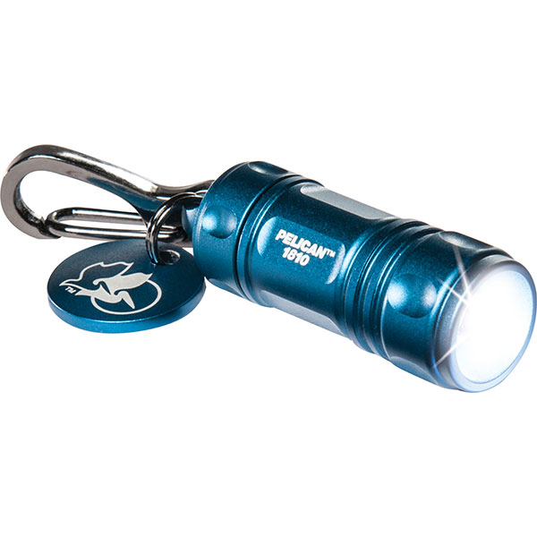 "Pelicanâ""¢ LED (1810) Keychain Light, Blue"