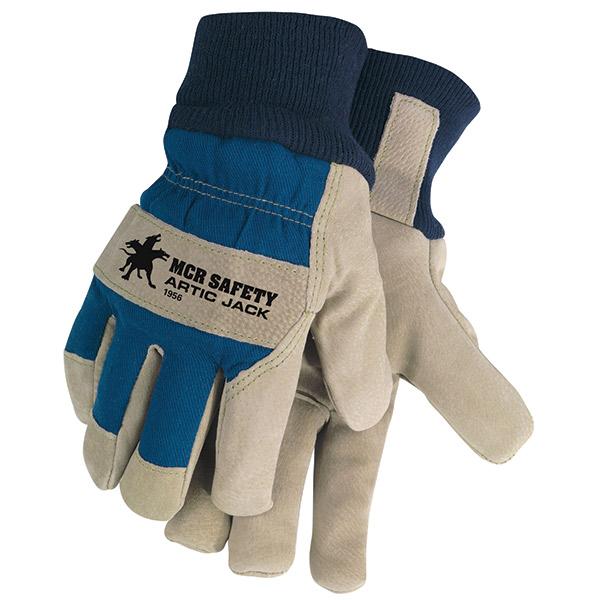 MCR Safety® Artic Jack® Split Pigskin Leather Gloves