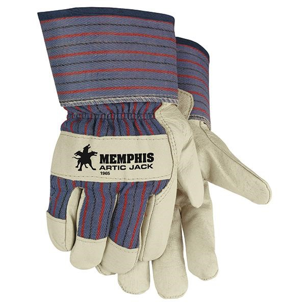 MCR Safety® Artic Jack® Pigskin Leather Gloves
