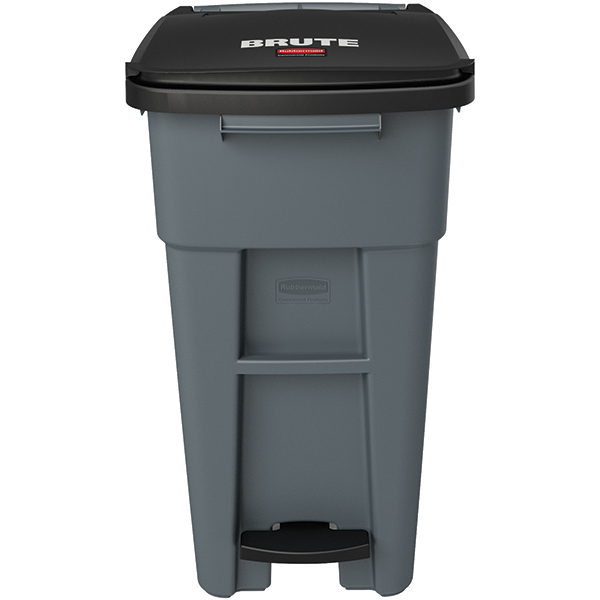 Rubbermaid Brute Step-On Rollout w/o Casters