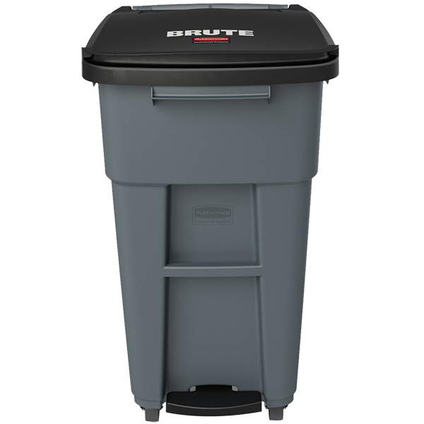Rubbermaid Brute Step-On Rollout w/ Casters