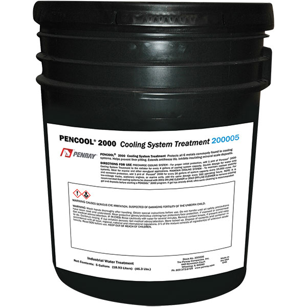 Penray® Pencool® 2000 Engine Cooling System Treatment, 5 gal