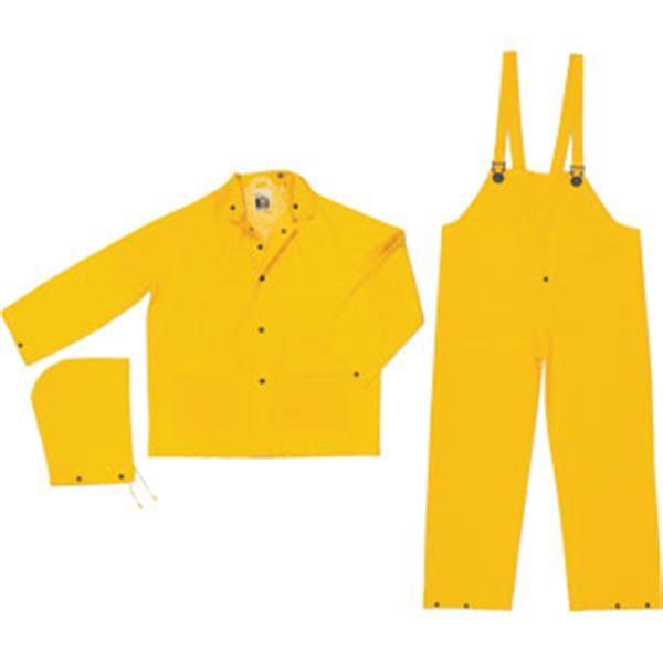 MCR Safety® Classic 3-Piece Rain Suit, Medium
