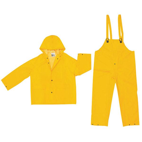 MCR Safety® Classic 3-Piece Rain Suit, 2X-Large