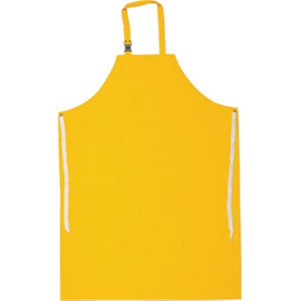 MCR Safety® Protective Apron, PVC/Poly, Sewn Edge