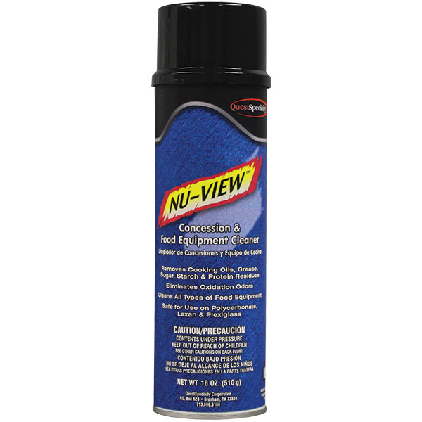 QuestSpecialty® NU-View Concession & Food Equipment Cleaner