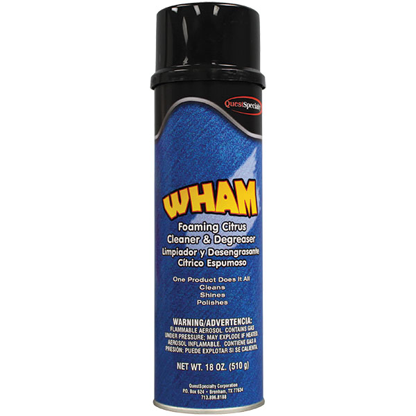 QuestSpecialty® Wham Foaming Citrus Cleaner & Degreaser