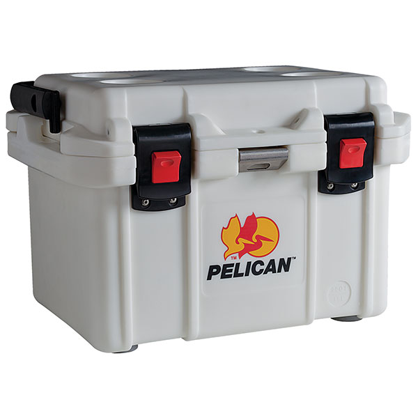 "Pelicanâ""¢ Elite Cooler w/ Flip Handle, 20 qt, White"