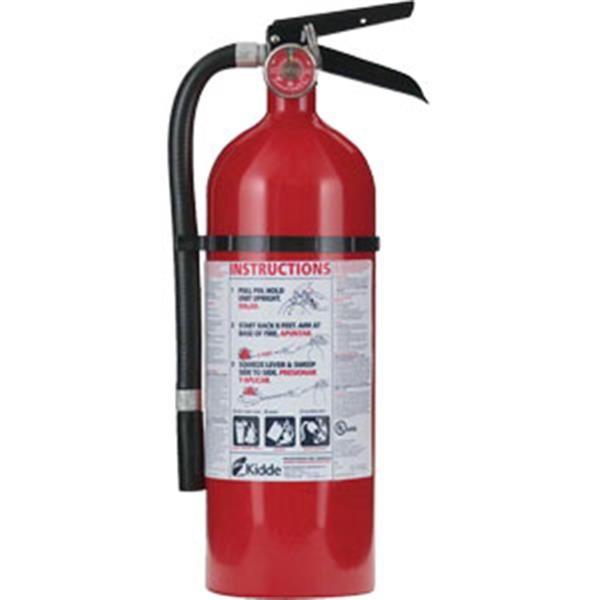 Kidde Pro 210 Consumer 4 lb ABC Fire Extinguisher w/ Wall Hook