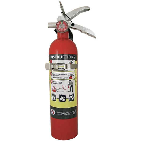 "Badgerâ""¢ Advantageâ""¢ 2.5 lb ABC Extinguisher w/ Vehicle Bracket"