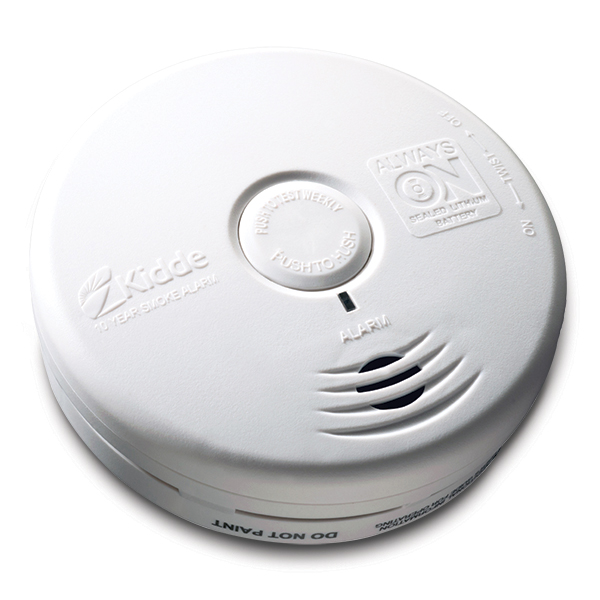 Worry-Free Sealed Lithium Smoke Alarm (DC)