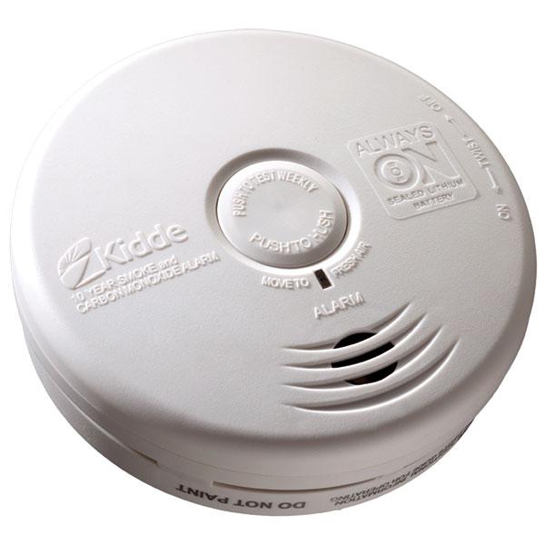Kidde Worry-Free DC Smoke/CO Combo Alarm (Photoelectric)