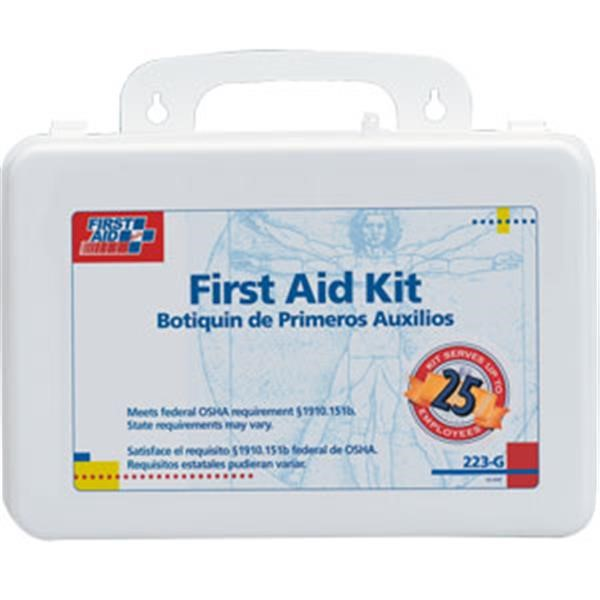 25-Person Bulk First Aid Kit w/ Gasket