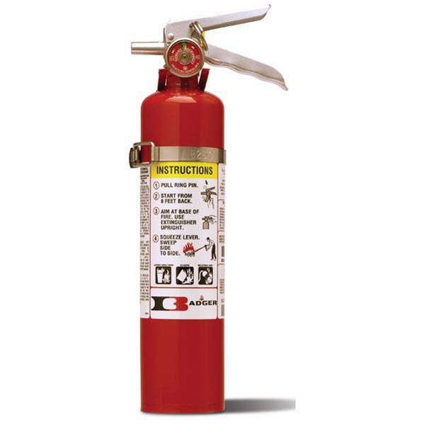 "Badgerâ""¢ Standard 2.5 lb ABC Fire Extinguisher w/ Vehicle Bracket"