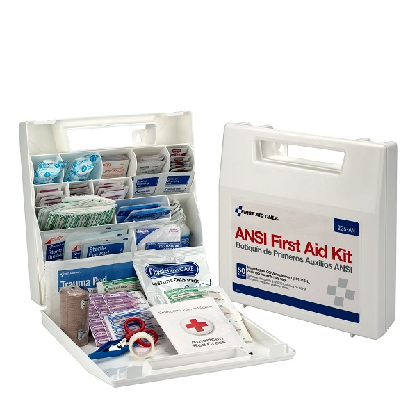 50-Person Multi-Purpose First Aid Kit w/ Dividers
