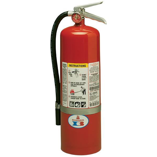 "Badgerâ""¢ Standard 10 lb ABC Fire Extinguisher w/ Wall Hook"