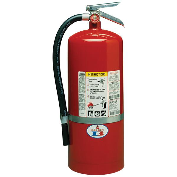 "Badgerâ""¢ Standard 20 lb ABC Fire Extinguisher w/ Wall Hook"