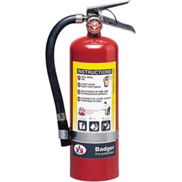 "Badgerâ""¢ Extra 5 lb ABC Fire Extinguisher w/ Wall Hook"