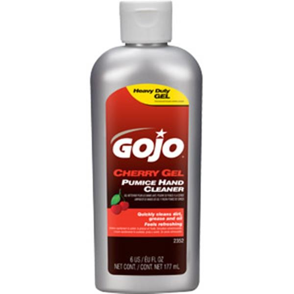 Gojo® Cherry Gel Pumice Hand Cleaner, 6 oz Squeeze Bottle