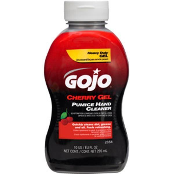 Gojo® Cherry Gel Pumice Hand Cleaner, 10 oz Squeeze Bottle