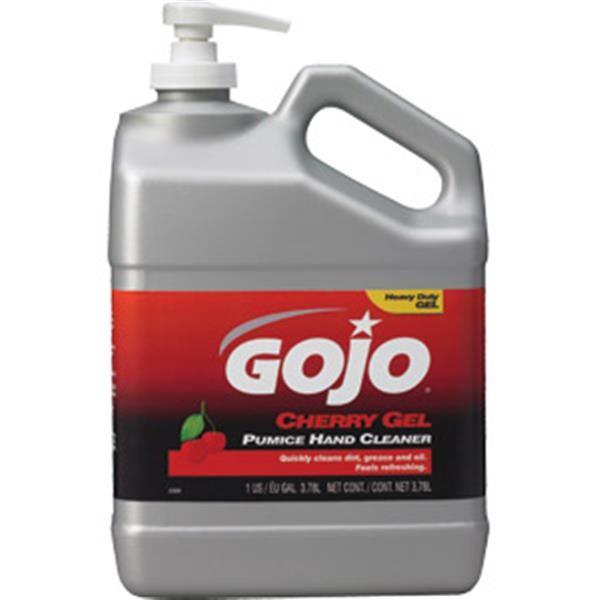 Gojo® Cherry Gel Pumice Hand Cleaner, 1 gal Pump Bottle